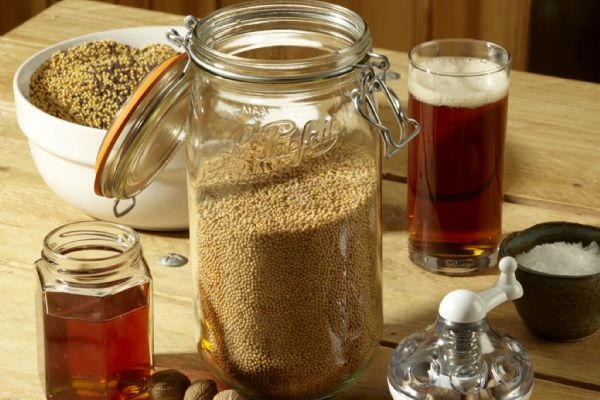 How to make Wholegrain Mustard with Beer | Rosie Makes Jam Recipes