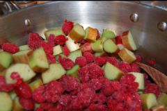 How do you make Rhubarb & Raspberry Jam | Find a recipe for Rhubarb & Raspberry Jam