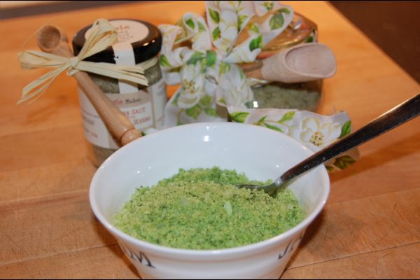 How to make Herb Salt | Rosie Makes Jam Recipes