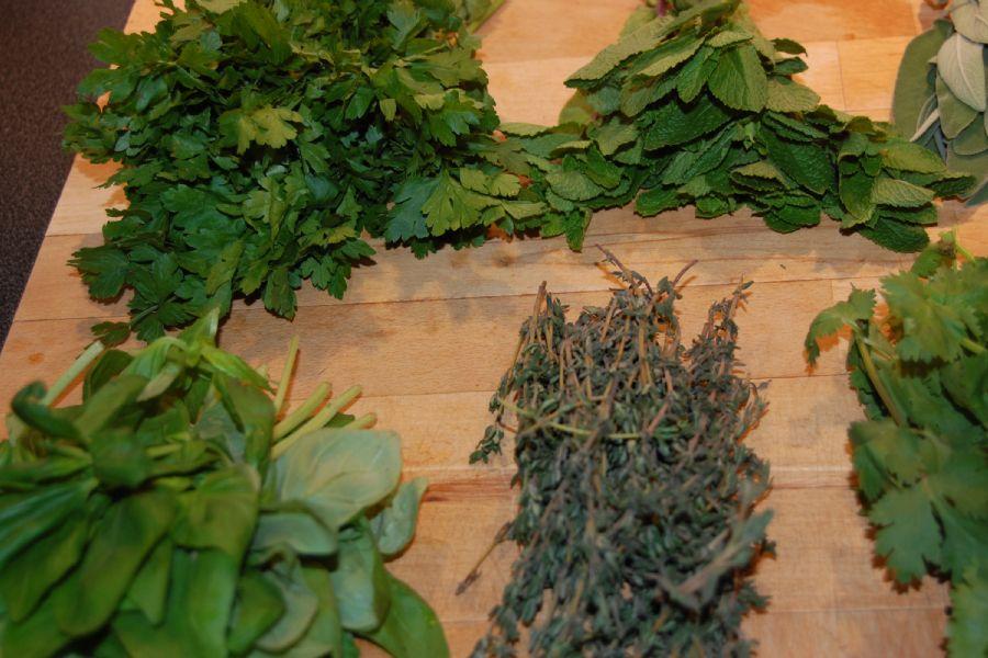 How to make Herb Salt - recipe method