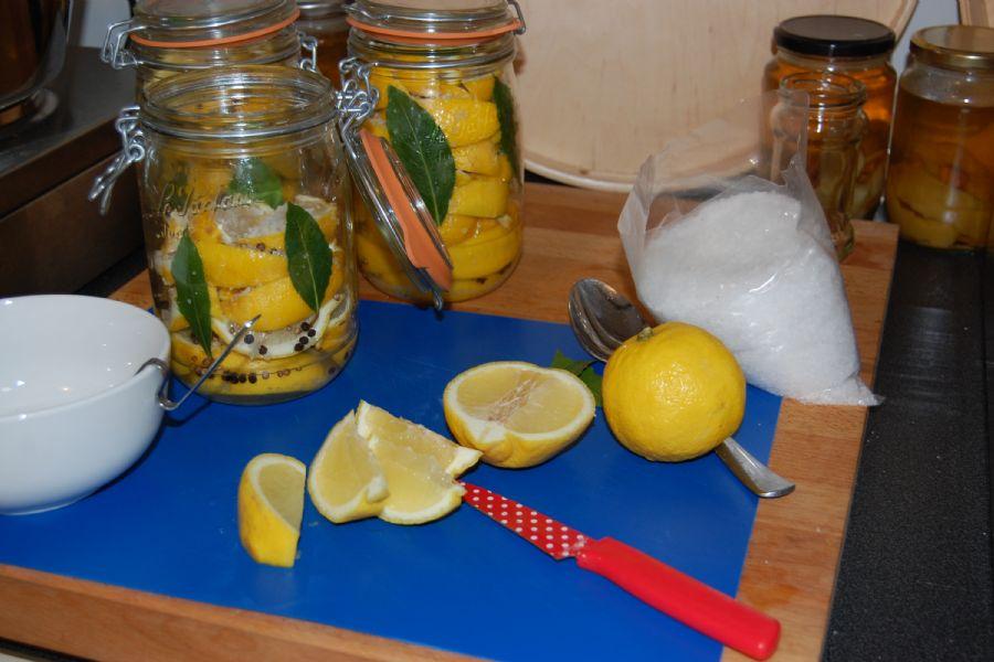 How to make Preserved Lemons - recipe method